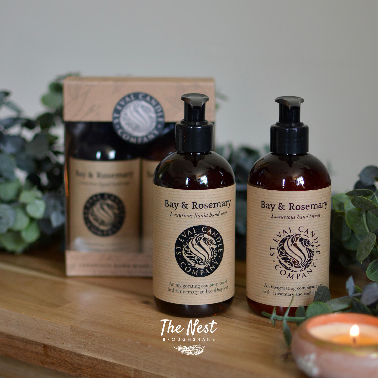St Eval - Bay & Rosemary Luxury Hand Wash & Body Lotion