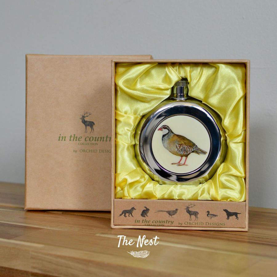 Bird Hipflask