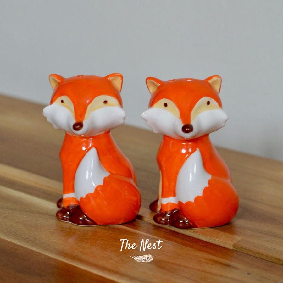 Fox Salt & Pepper Set