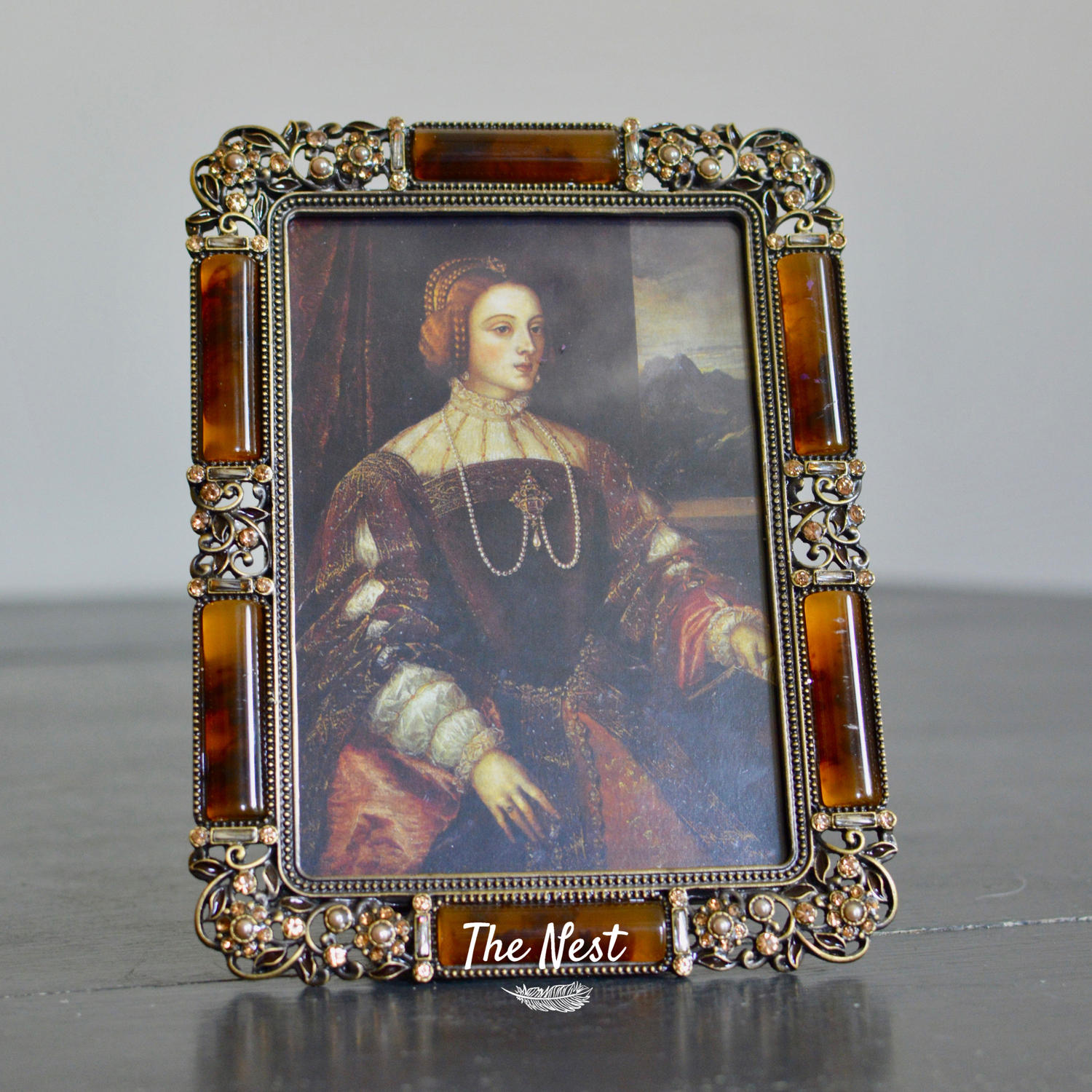 Baroque Style Photo Frame