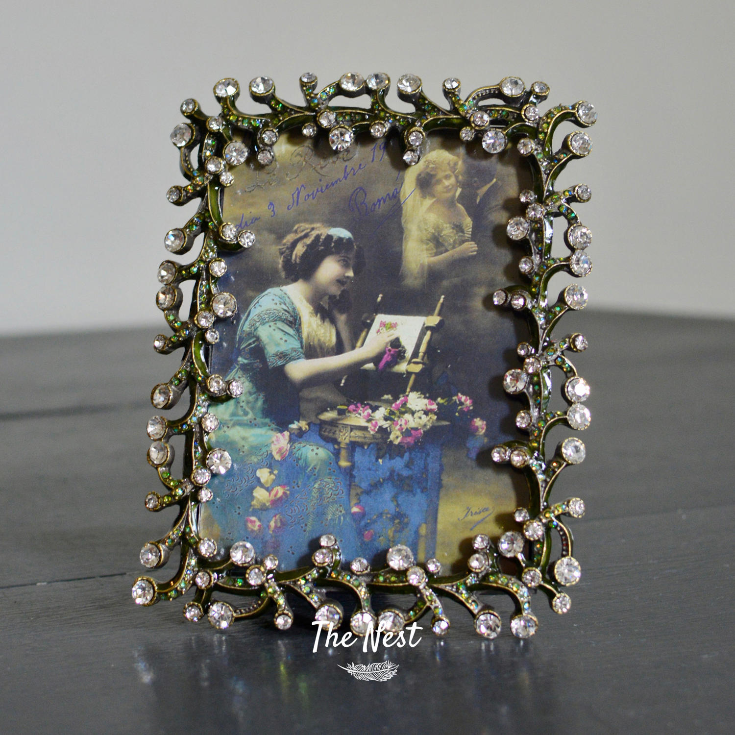 Swarovski Crystal  Photo Frame