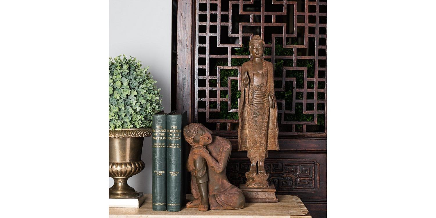 India Jane - Serenity Standing Buddha - Rust