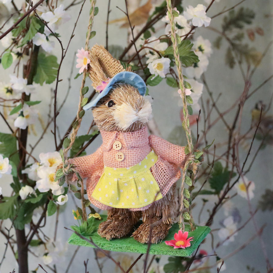 Gisela Graham - Bunny Rabbit on Swing