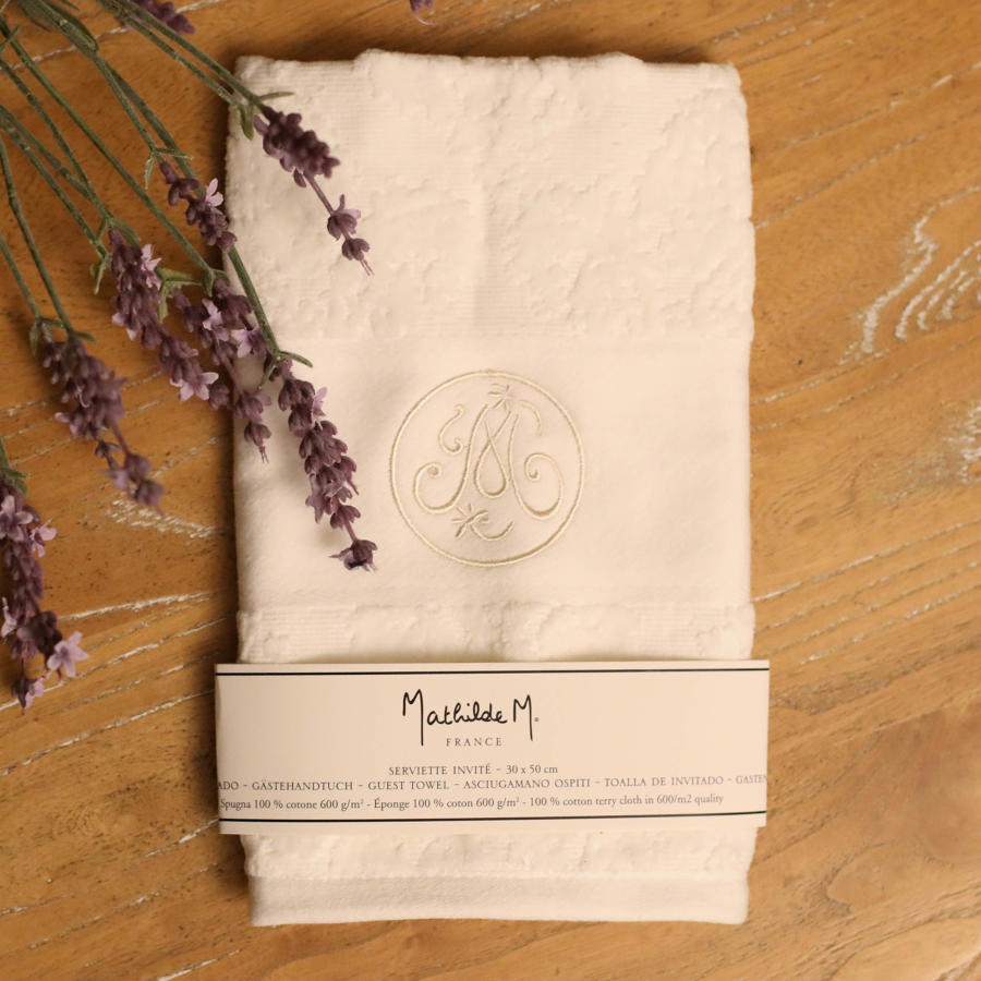 Mathilde M. France -  Guest Towel.