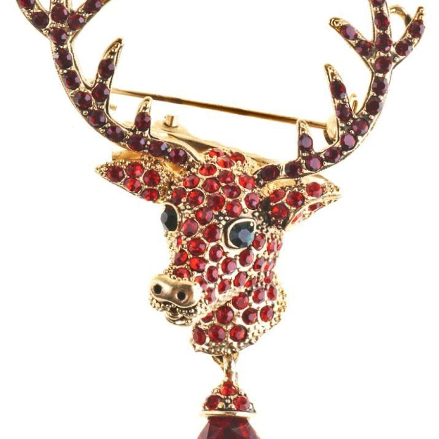 Rosie Fox - Stag Brooch