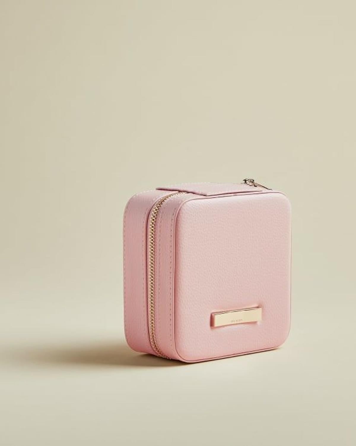 Ted Baker - Averie Zipped Pink Jewellery Case