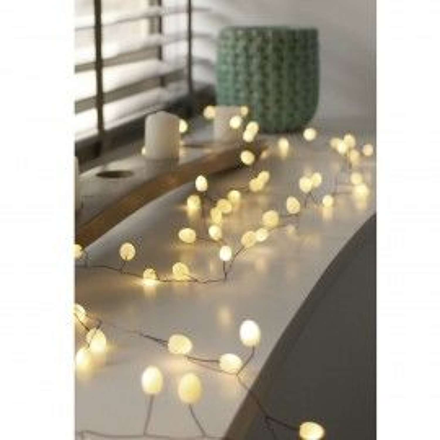 Lightstyle London - Teardrop Opaque Lights (Battery Operated)