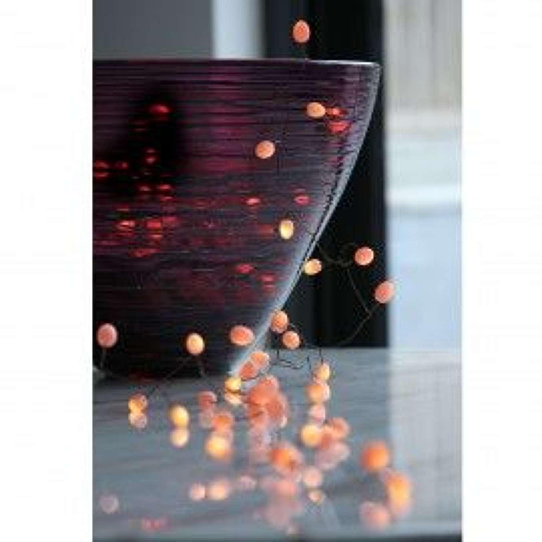 Lightstyle London - Teardrop Peach Lights (Mains Operated)