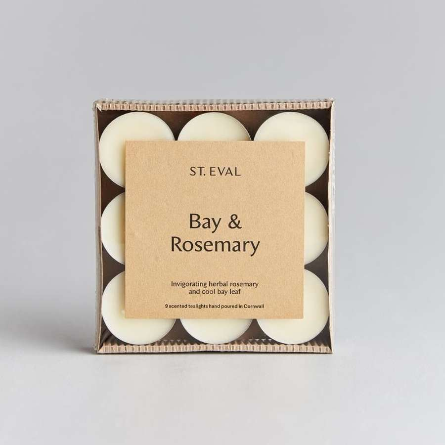 St Eval - Bay & Rosemary Scented Tea Lights