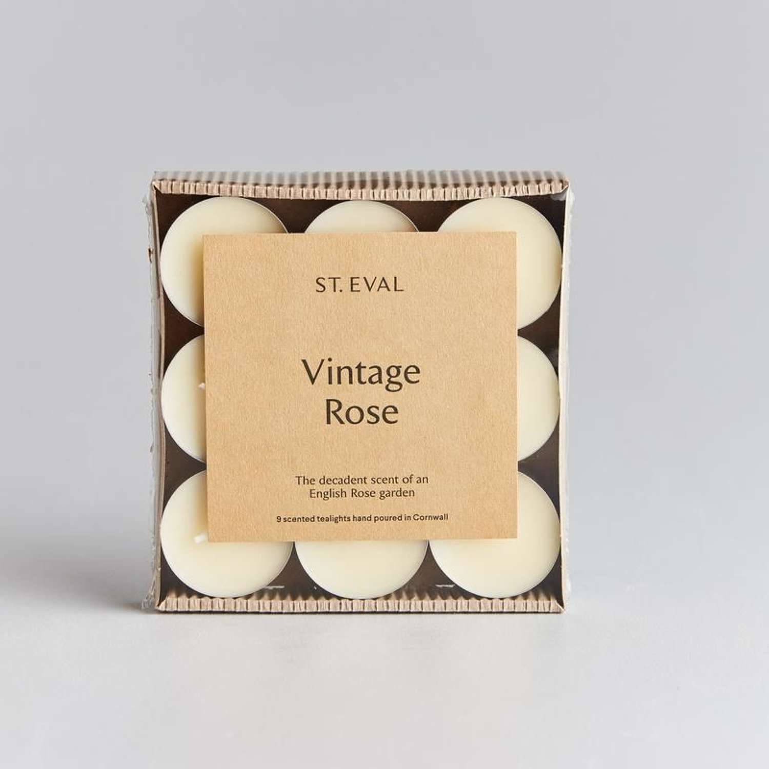 St Eval - Vintage Rose Scented Tea Lights
