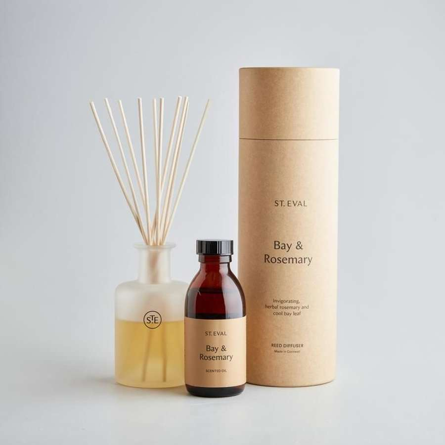 St Eval - Bay & Rosemary Reed Diffuser