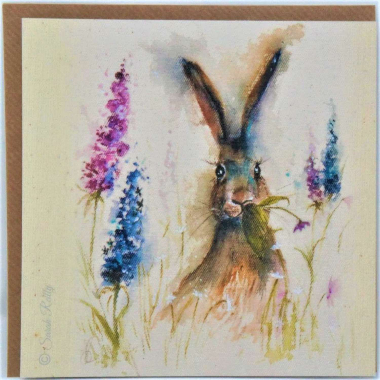 Love Country - Munching in the Flower Garden - by Sarah Reilly