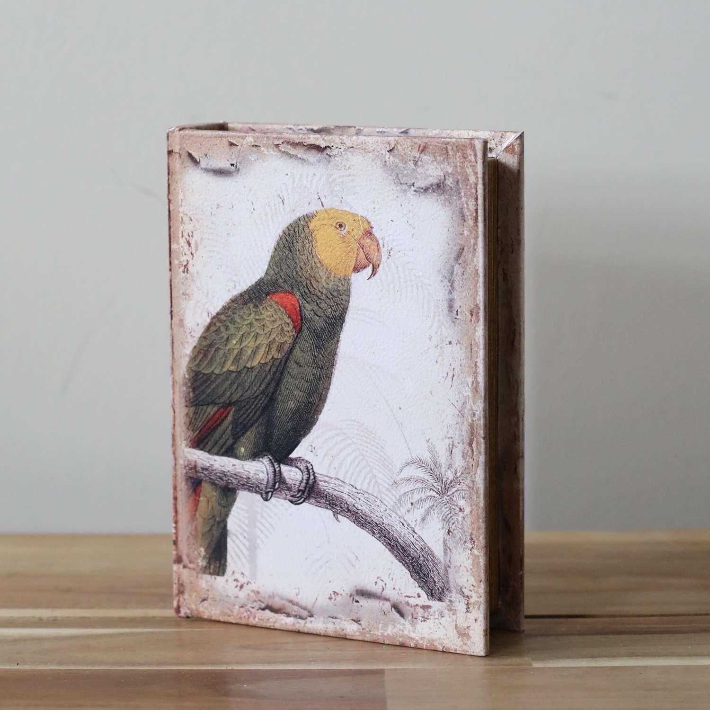 Dutch Style Parrot Book Box.