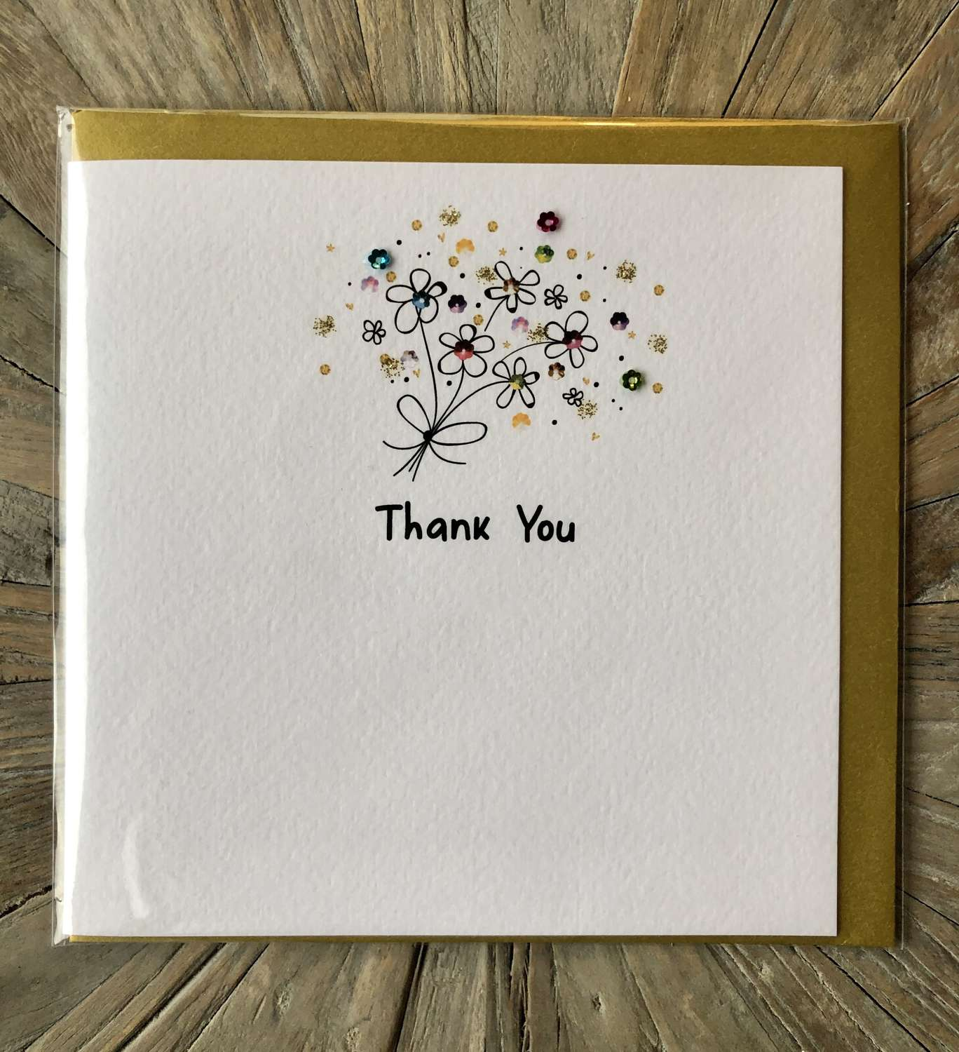 Thank You Card.