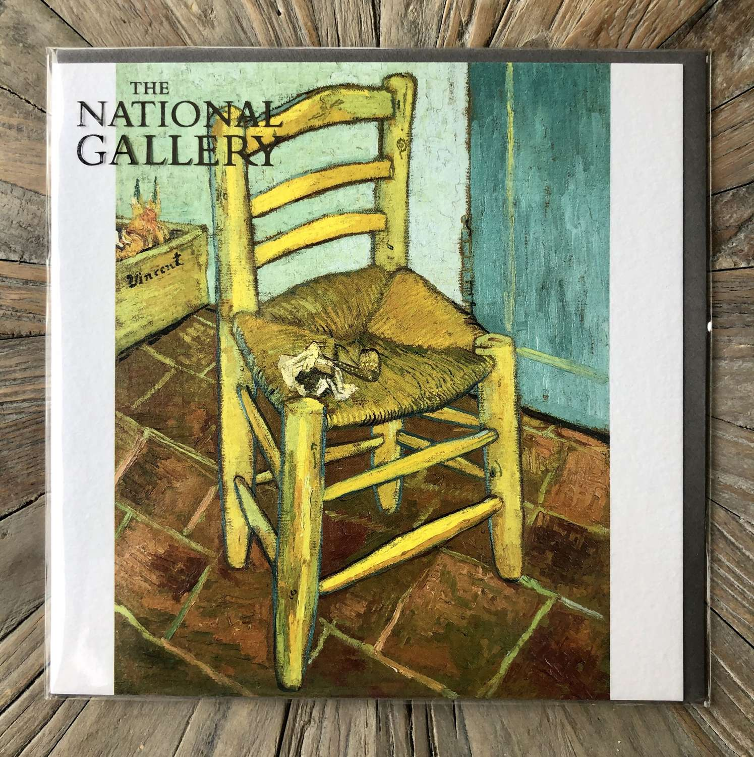 The National Gallery - Van Gogh's Chair.