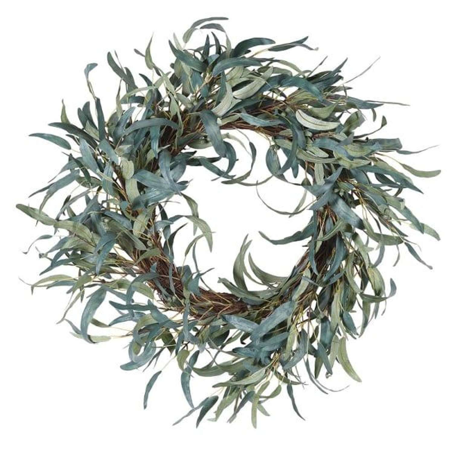 Green Eucalyptus Wreath.