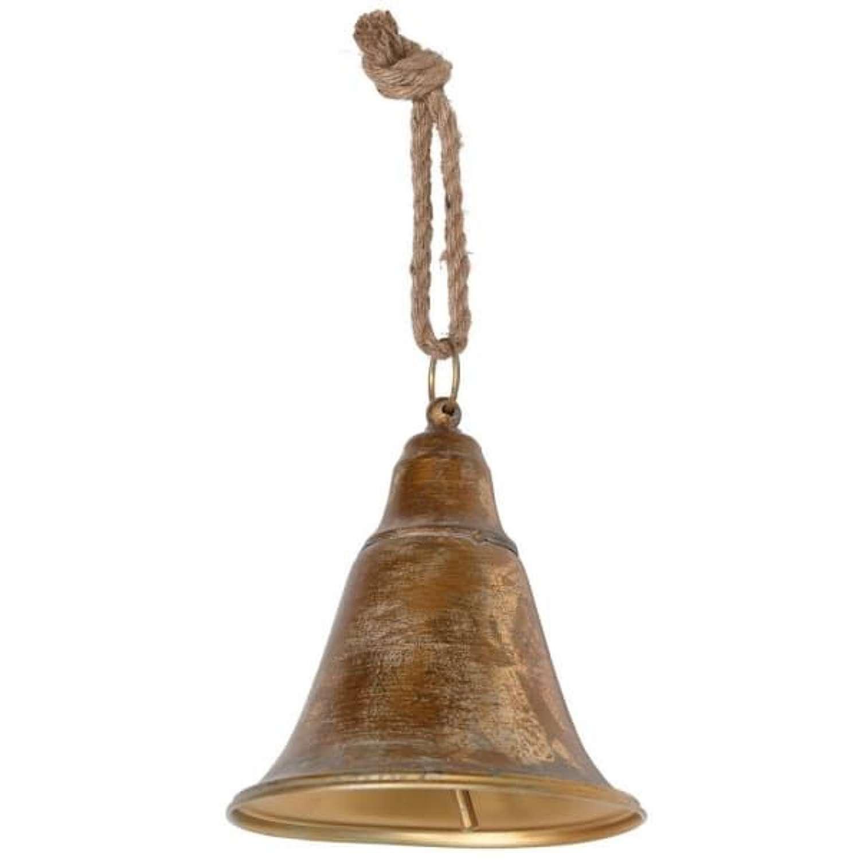 Brass Effect Hanging Bell
