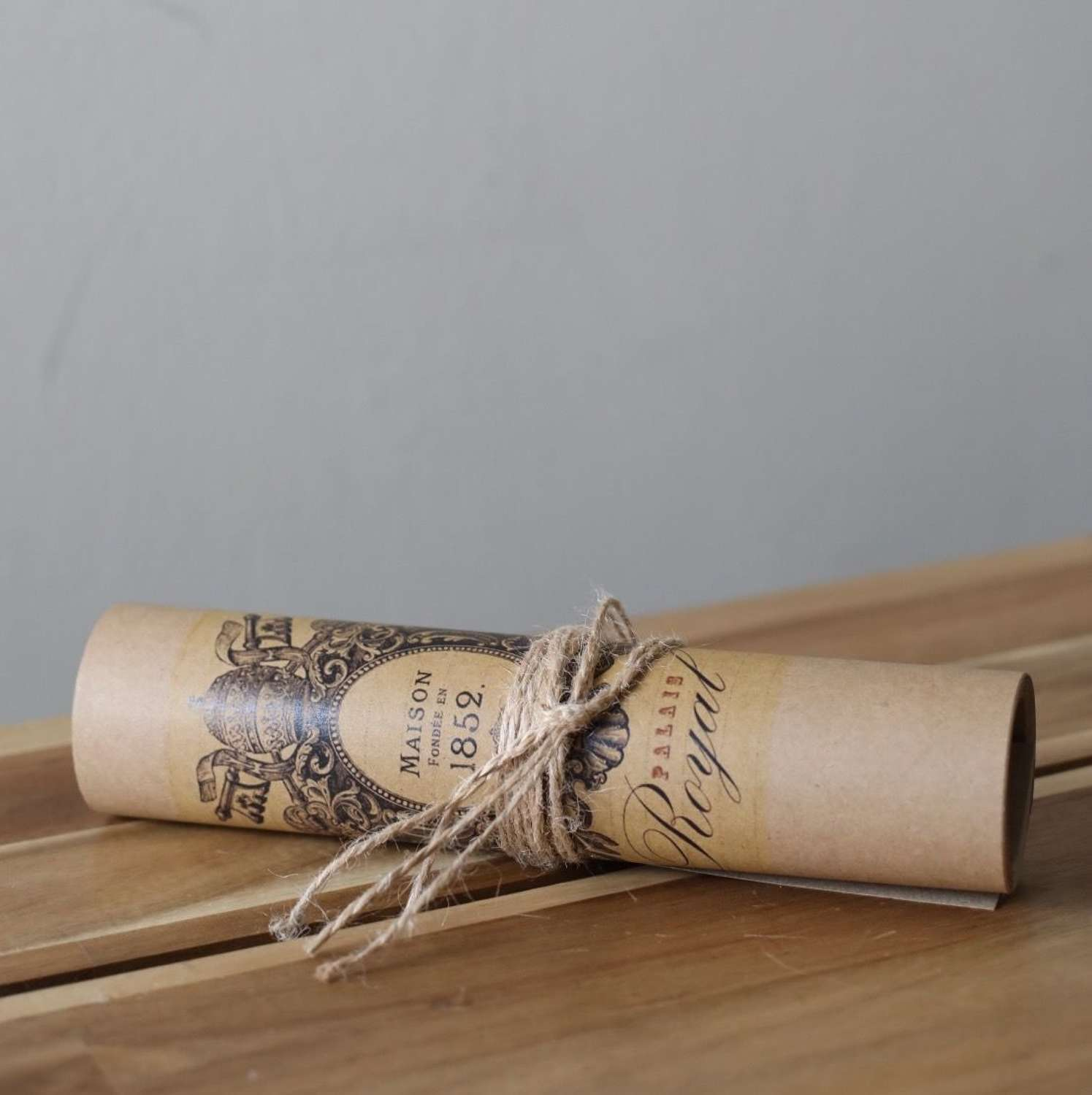 Decorative Paper Scroll.