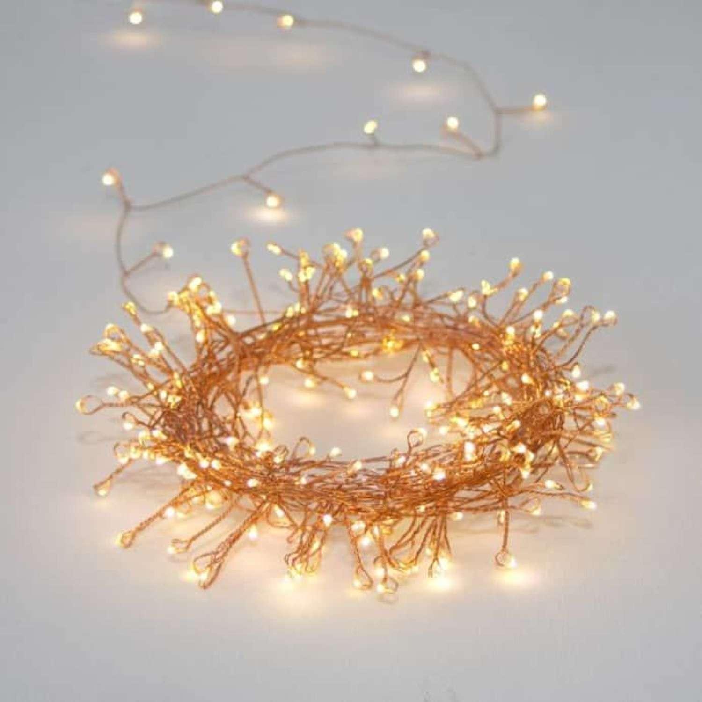 Cluster Copper Mains Powered Indoor/Outdoor Lights