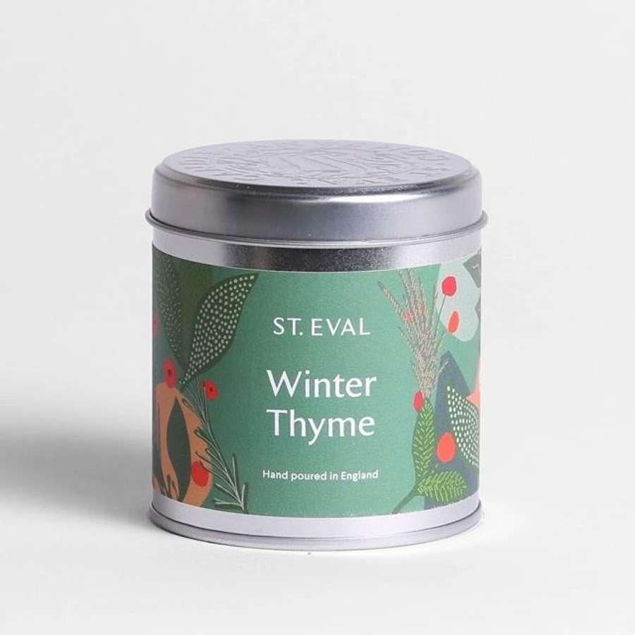 St Eval - Winter Thyme Christmas Tin