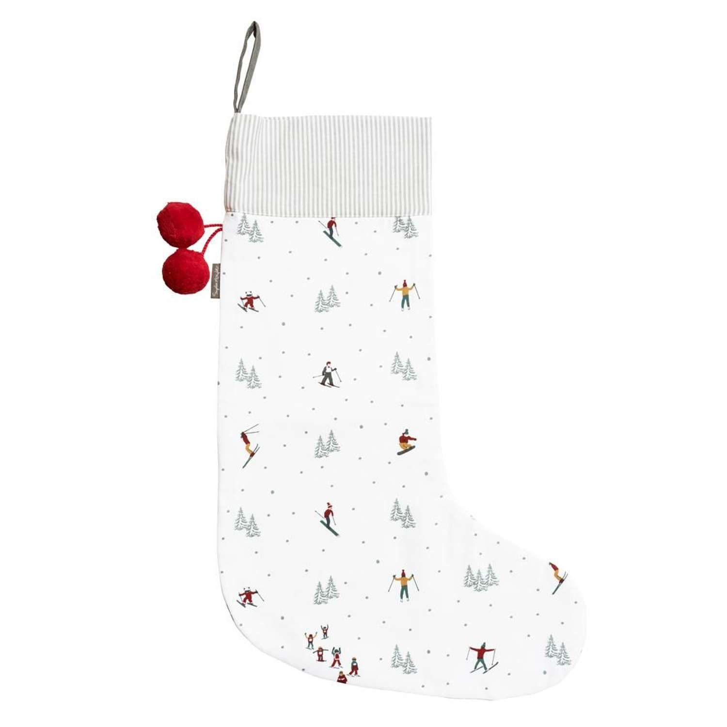 Sophie Allport Skiing Christmas Stocking