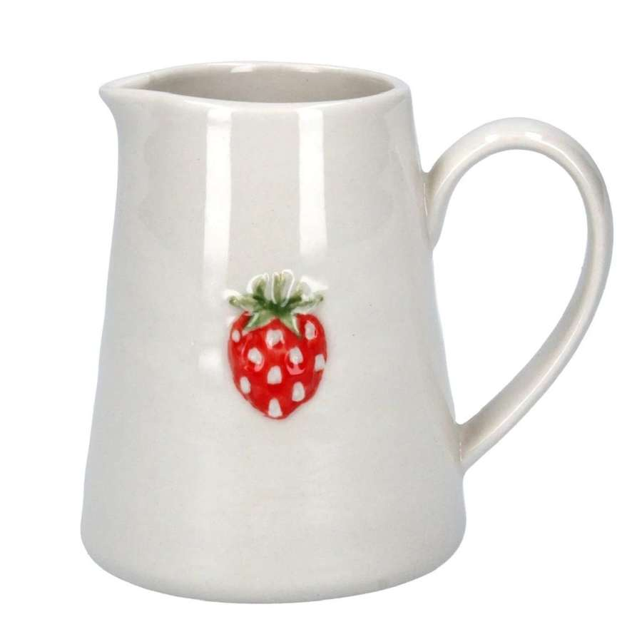 Gisela Graham - Strawberry Mini Jug