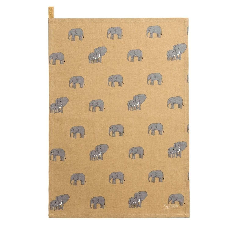 Sophie Allport - Elephant Tea Towel