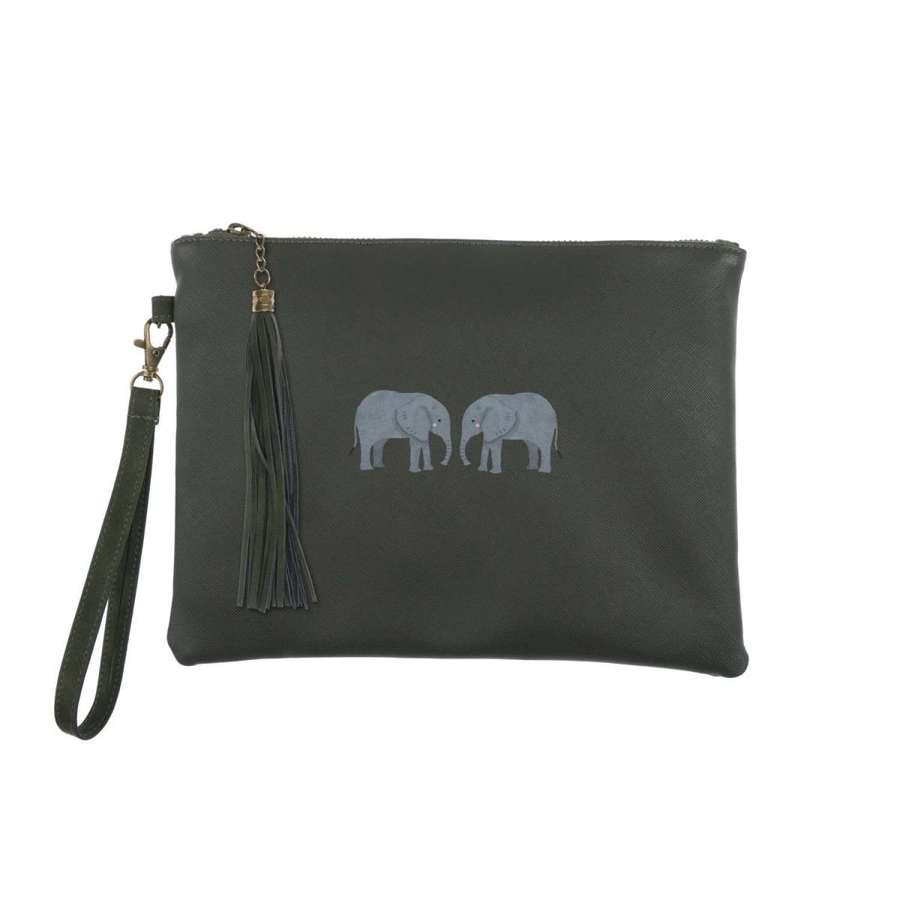 Sophie Allport - Elephant Clutch Bag