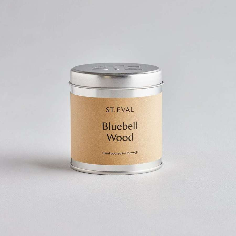 St Eval Bluebell Wood Candle Tin