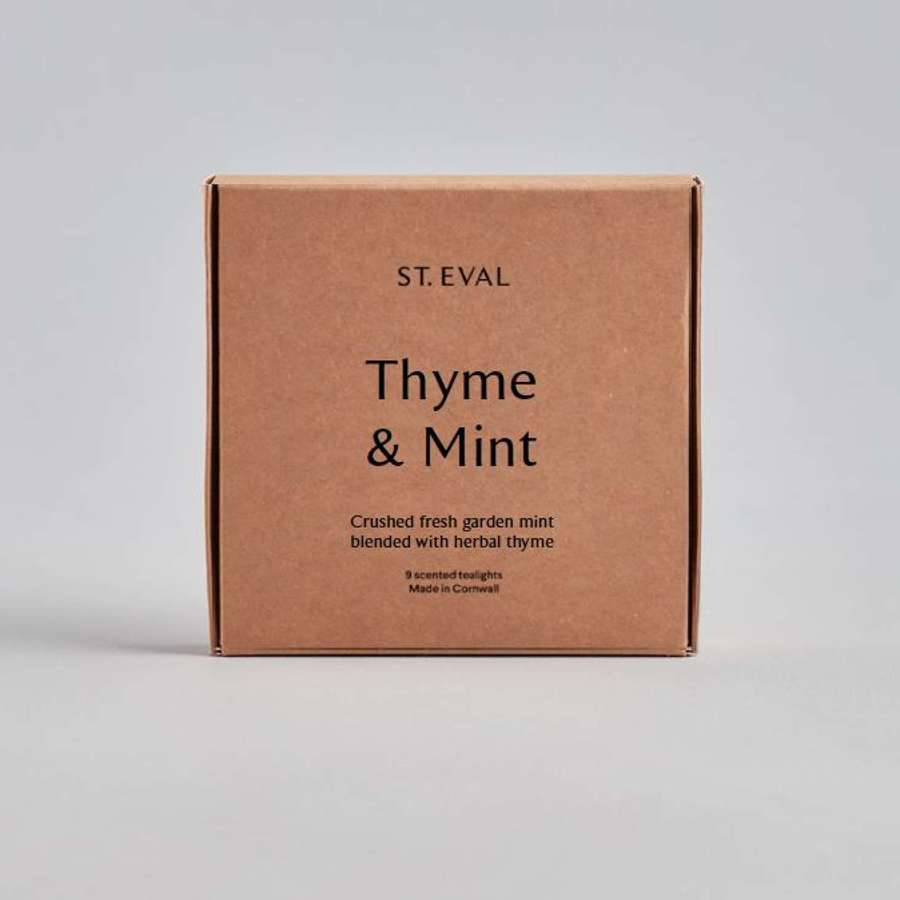 St Eval - Thyme & Mint Scented Tealights