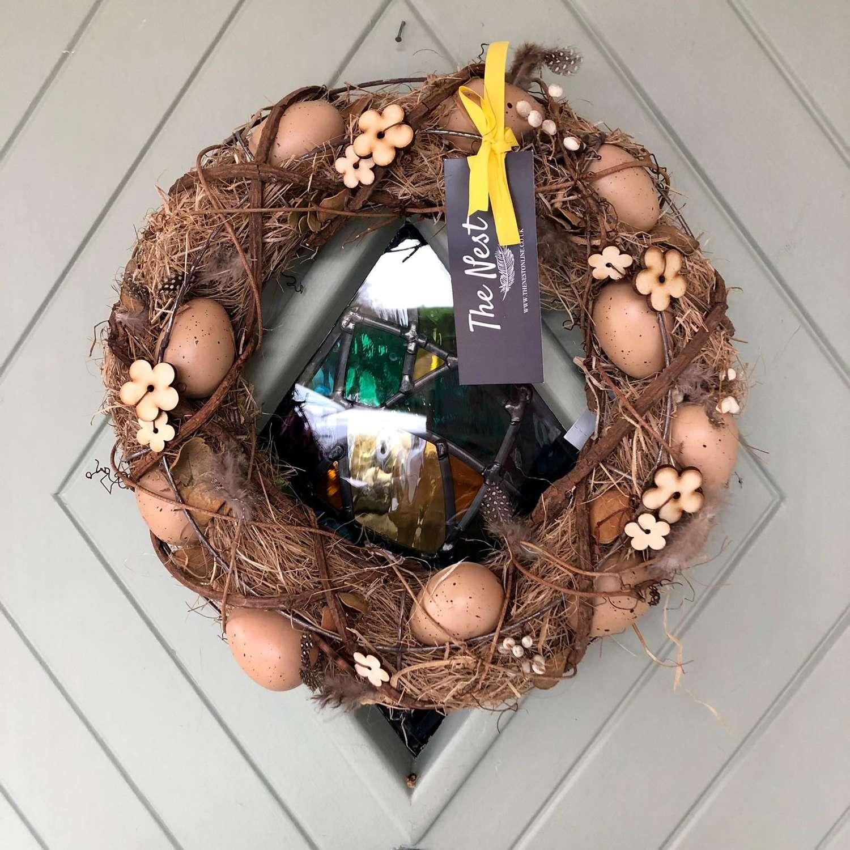 Easter Door Wreath/Table Centrepiece