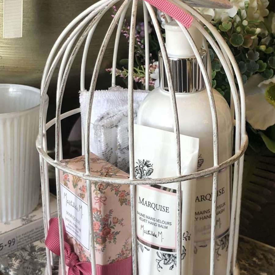 Mathilde M. France - Marquise Scent - Bird Cage Gift Set